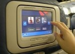 In Flight Entertainment and Movie Listings