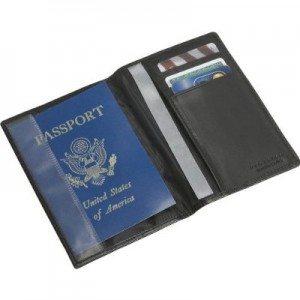 Keep your passport safe RFID Blocking Leather Passport Case