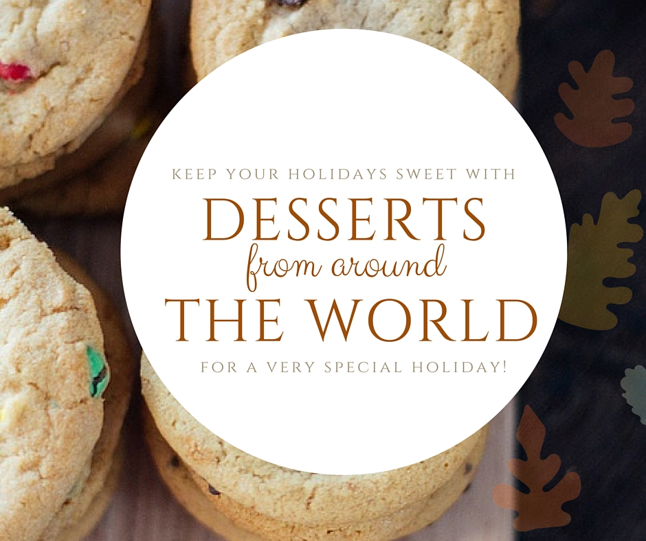 desserts from around the world