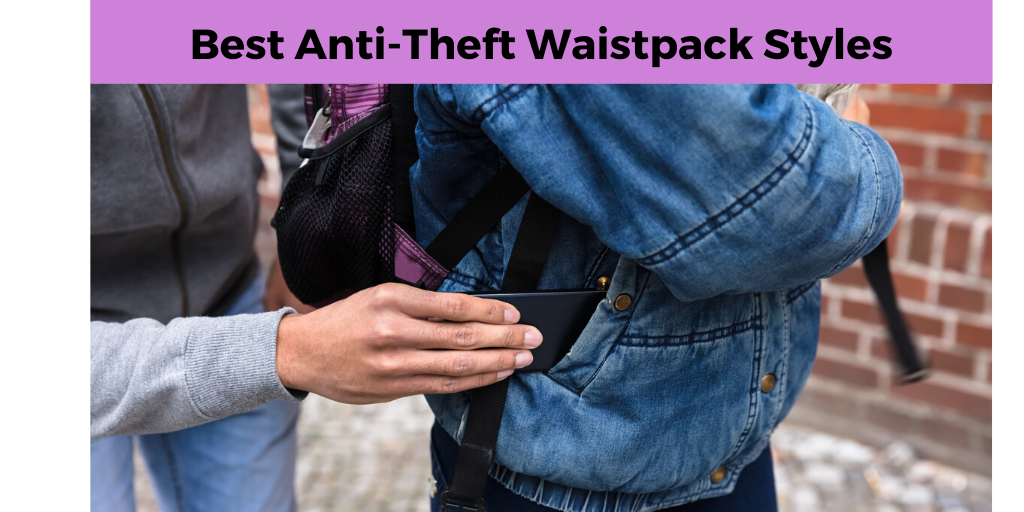 Anti theft wiast packs, frequent flyers pack