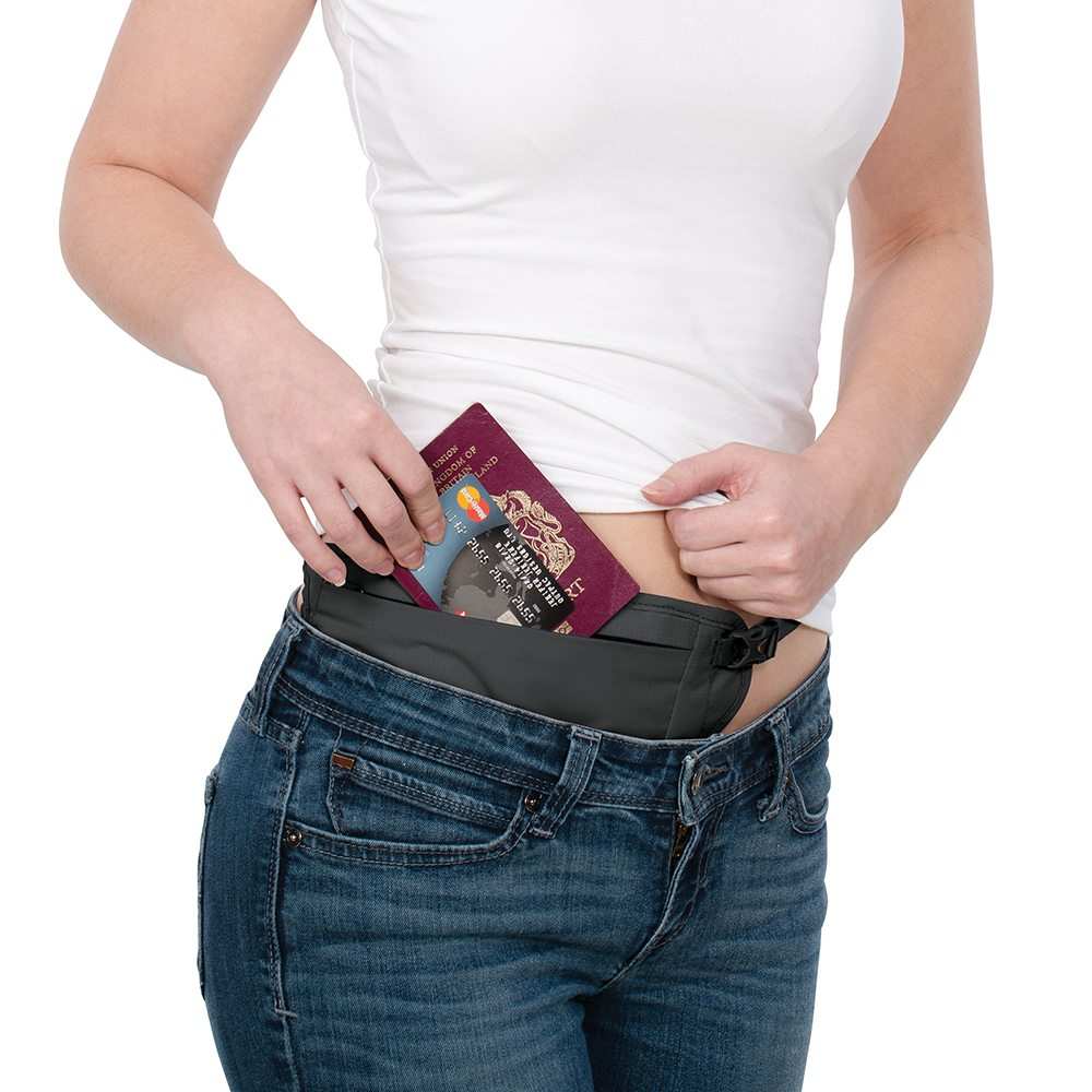 Best money belt Breathable and flat money belt