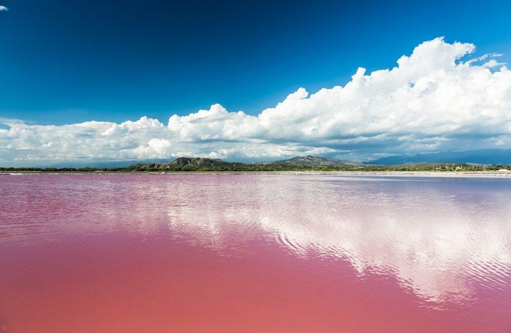 torrevieja, spain, pink lake