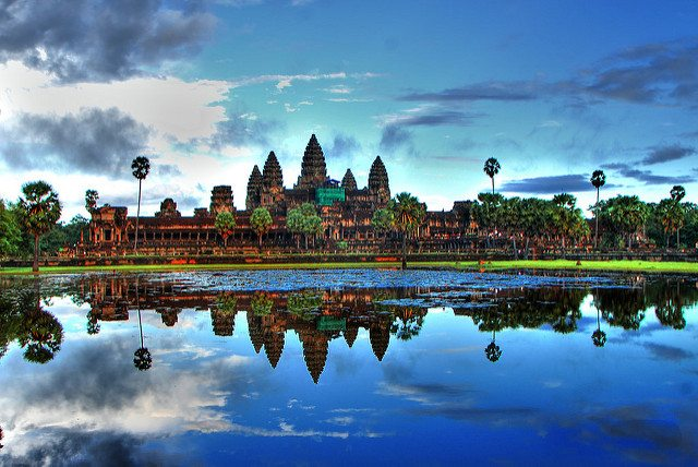 Cambodia, Asia, Historic, Landmark, Travel