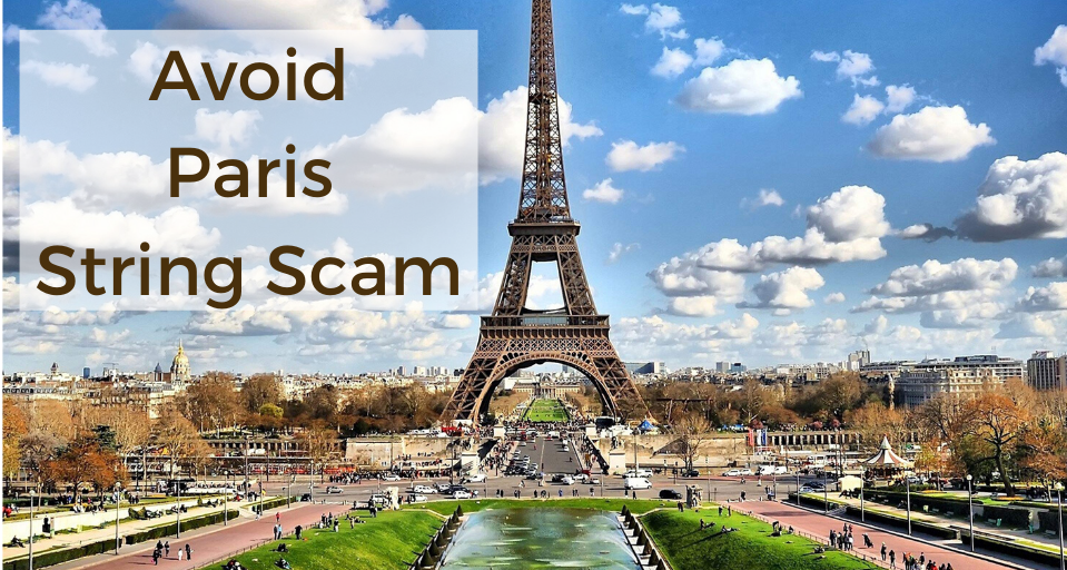 Paris string scams