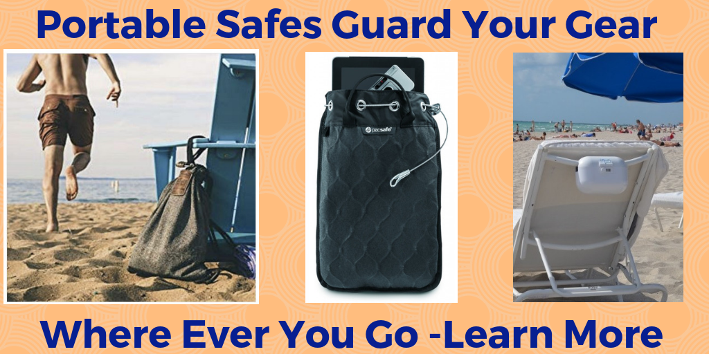 Portable safes Guard Your Gear, how to lock your zippers