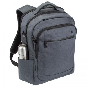 Anti-Theft Urban Backpack with RFID Protection Prevents Digital Theft