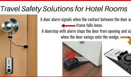 Alarm Your Hotel Room Door to Help Keep Intruders Out
