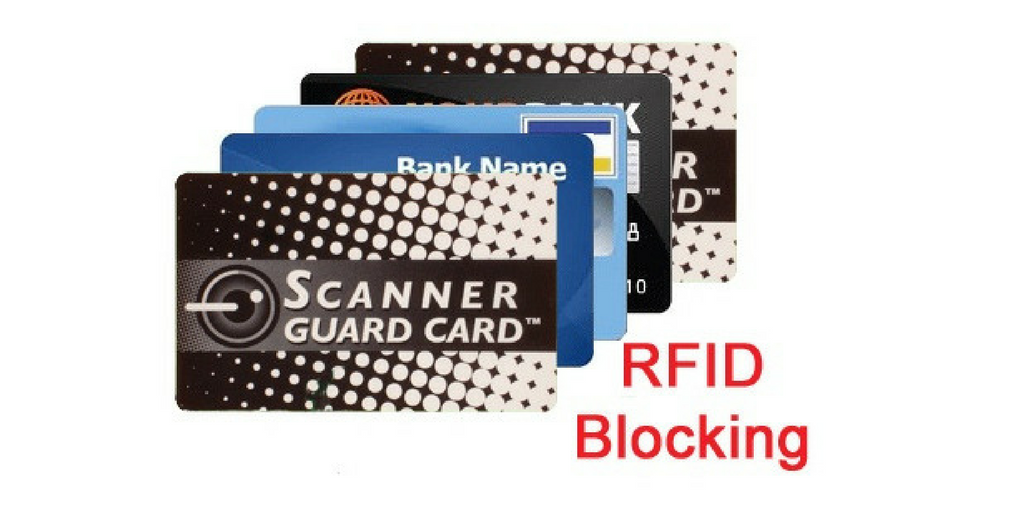 RFID Blocking Scanner Guard Cards Prevents Digital Theft