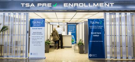 TSA Precheck fingerprinting