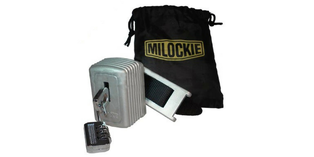 Milockie Hotel Safe Lock for Frequent Flyers