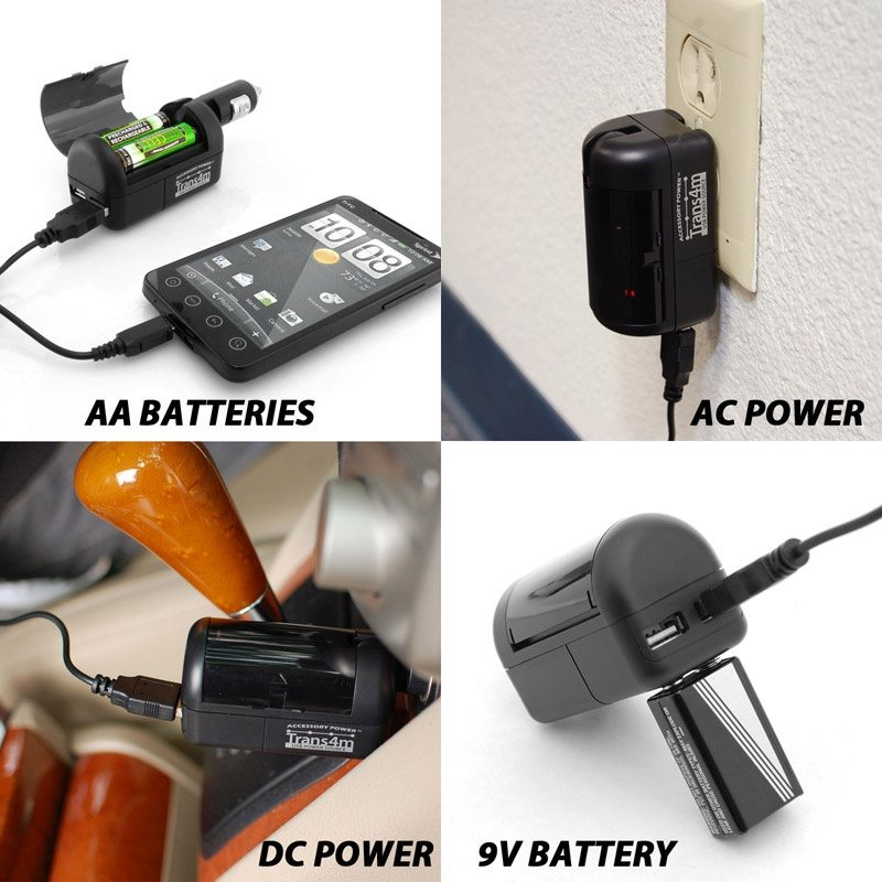 4 Source Portable Power Supply Instead of Smart Luggage