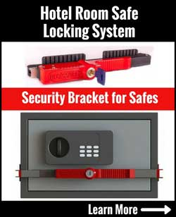 How safe are hotel room safes? How to stop others from