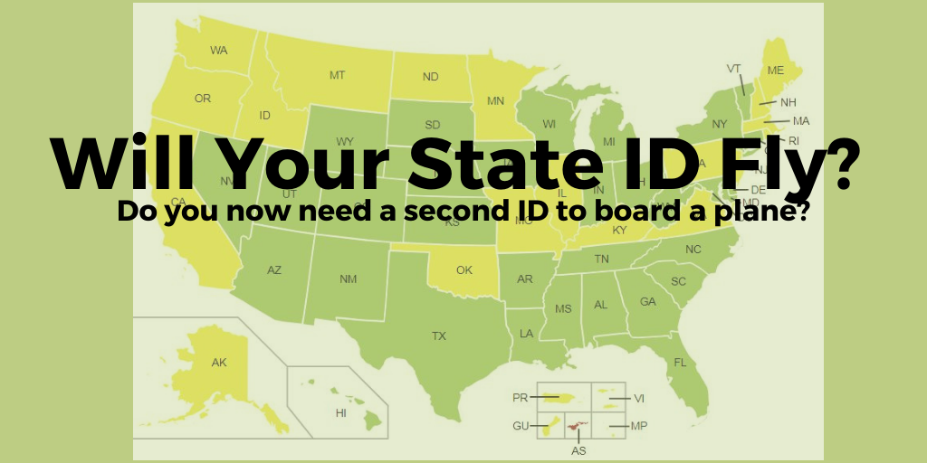 Will your State ID Fly, Don't keep it in your wallet