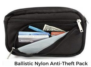 Daymakers anti-theft waist pack with organizer
