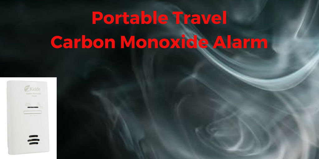 Portable Travel Carbon Monoxide Alarm