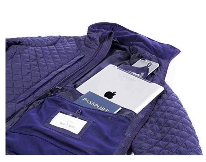 pickpocket proof jacket women