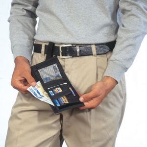 security travel wallet
