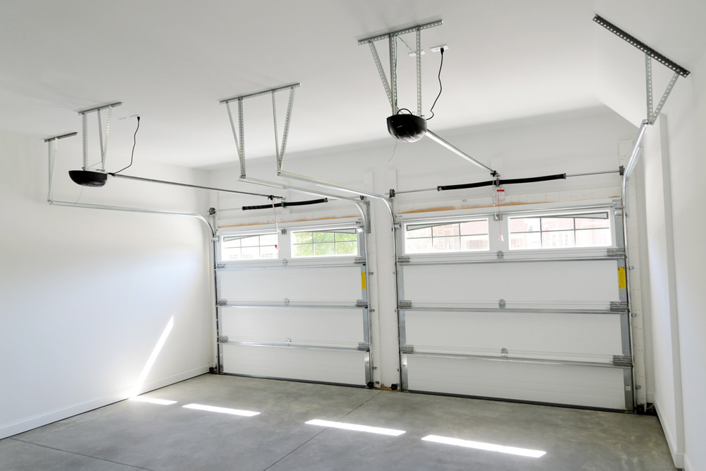 How to break into a garage door