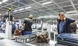 Preventing Theft at Airport Security Checkpoints