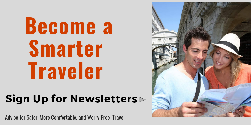 Become a Smarter Traveler newsletter sign up