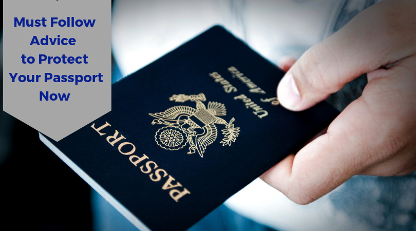 Advice to protect your passport now