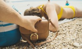 Theft at the Beach-Thieves Caught on Video Plus How to Keep Valuables Safe