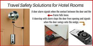 portable door locks, to help beat jet lag